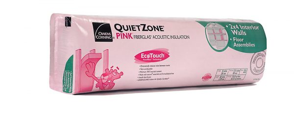 QUIETZONE 15 X 48 X 3-1/2, OWENS CORNING 110 WOOD FRAMING-8392