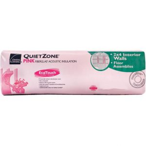 QUIETZONE 15 X 48 X 1-1/2, OWENS CORNING 190 WOOD FRAMING-0