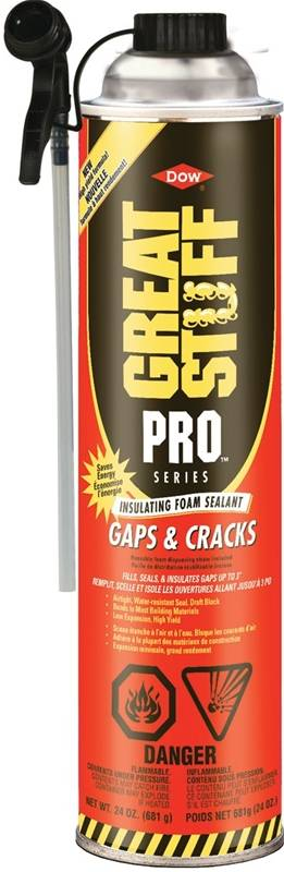 GREAT STUFF PRO Gaps and Cracks Insulating Foam Sealant 24 oz Can-0