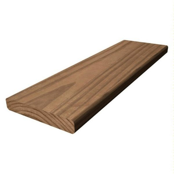 5/4 X 6- 14 PRESSURE TREATED WOOD BROWN-0