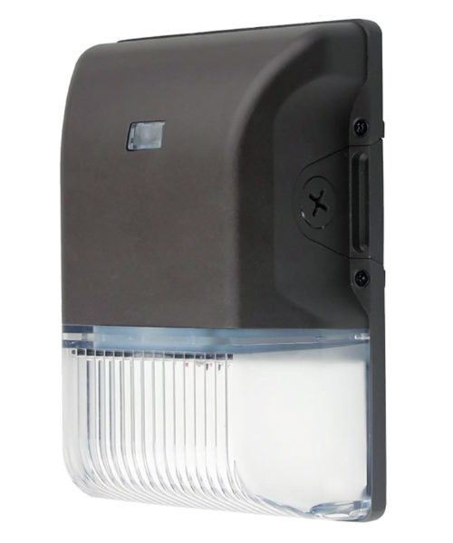 Mini Wall Pack with Photocell
