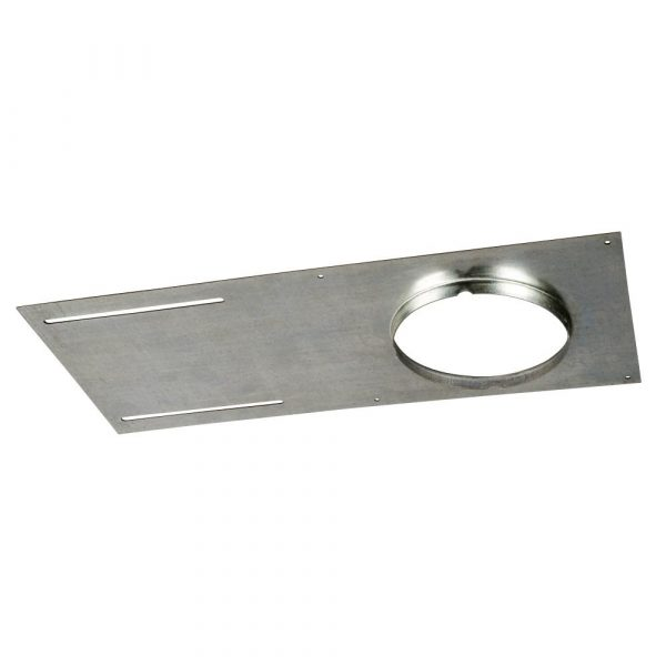 Mounting Plate - Galvanized plate with edge